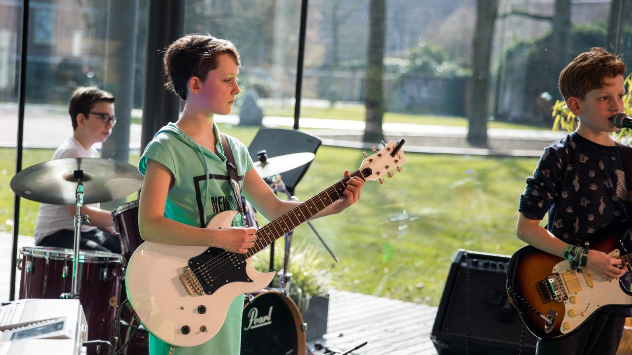 Band Workshop voor Kids