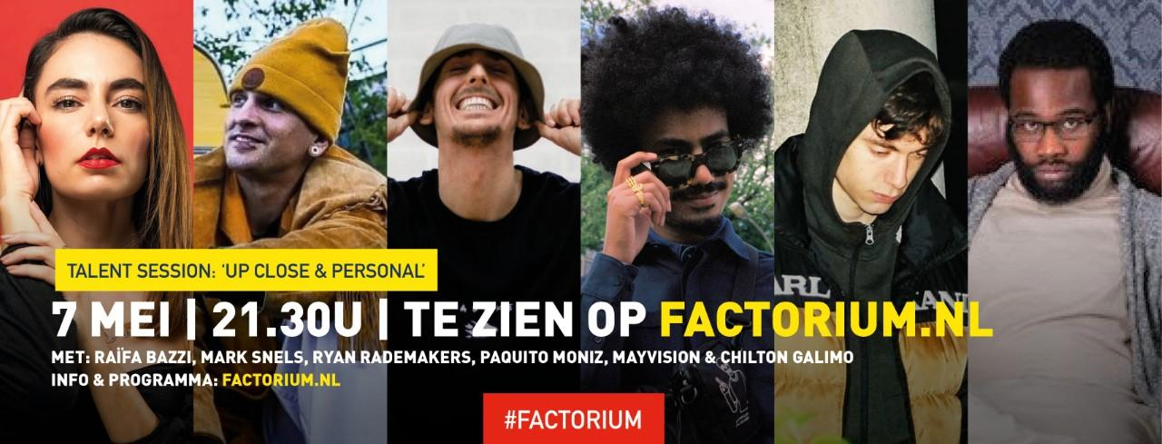 Factorium Talent Sessions: Up Close and Personal